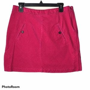 Tommy Hilfiger Stretch Corduroy Mini Skirt